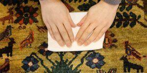 تمیز کردن انواع لکه فرش