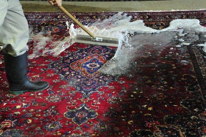 شستن فرش ماشینی