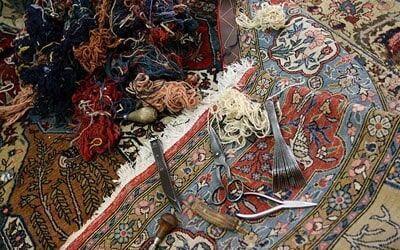 تعمیر فرش دستباف