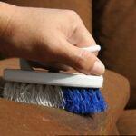 فیلم + راحت ترین روش تمیز کردن مبل پارچه ای با شامپو فرش