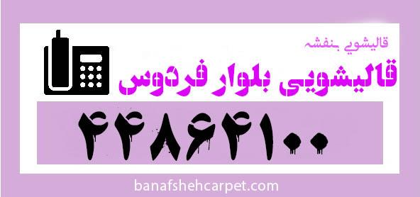 شماره قالیشویی بلوار فردوس